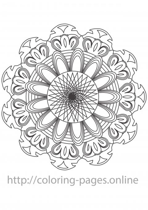 spinner mandala
