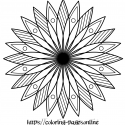 Flowerly mandala