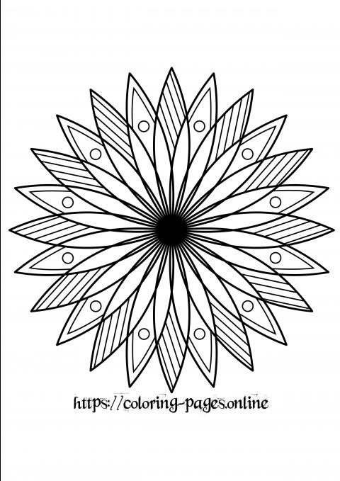 flowerly mandala
